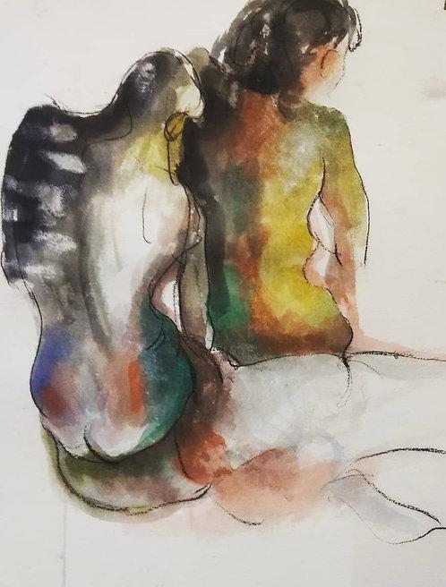 Human Body Sketch 6