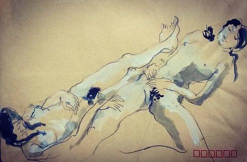Human body sketch 4