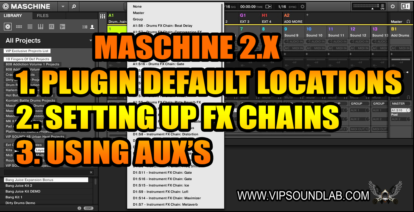 Maschine 2.X Setting up Plugin Default locations and FX Chains.jpg