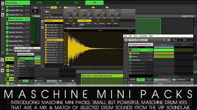 maschine 2.0,vip soundlab,dro fontaine,soundlab,Drum Kit,Maschine,Maschine Tutorials,expansions,native instruments