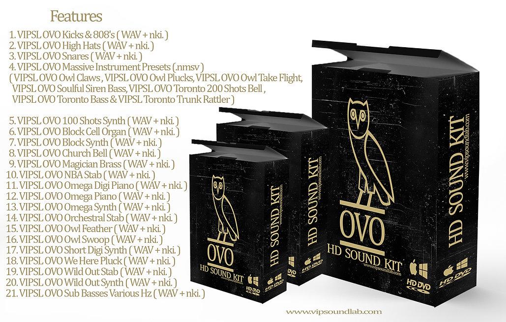 VIPSL OVO HD Drum Kit / Massive / Kontakt / Maschine