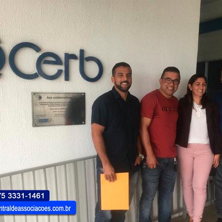Reunião entre gerentes das Centrais e a CERB