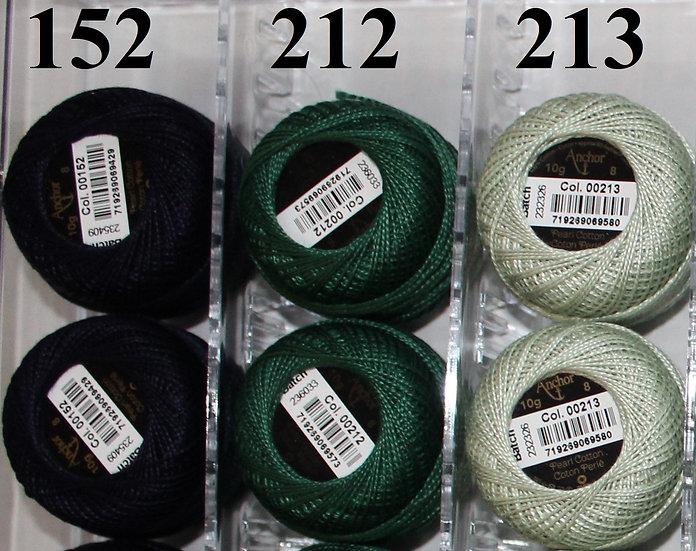 0213 Anchor Pearl 8 Cotton