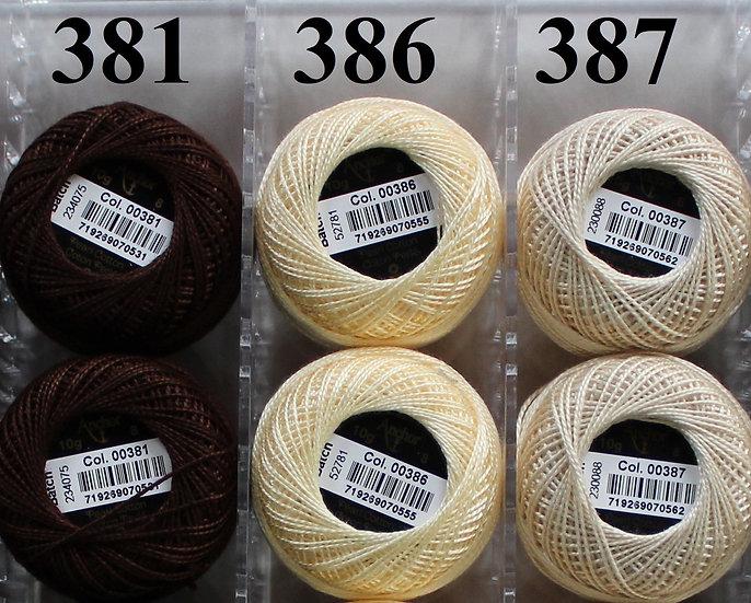 0386 Anchor Pearl 8 Cotton