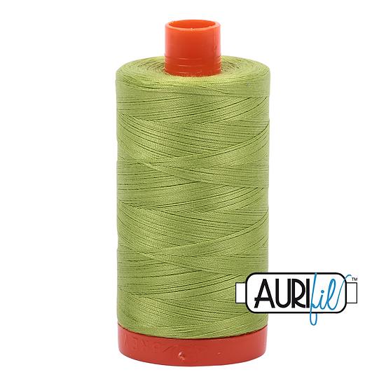 1231 Spring Green Aurifil Thread 50 Wt 100% Cotton