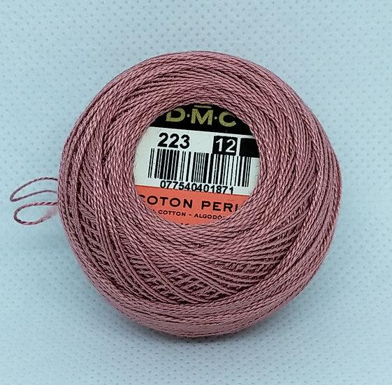 0223  DMC Pearl 12 10g 120 Mtr Balls