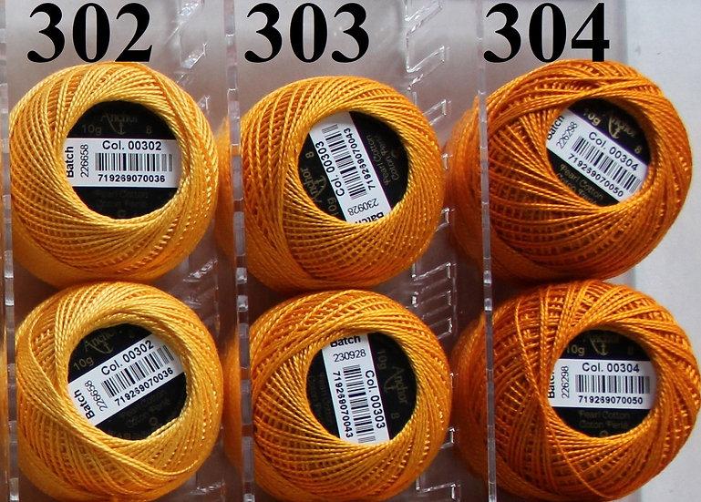 0304 Anchor Pearl 8 Cotton