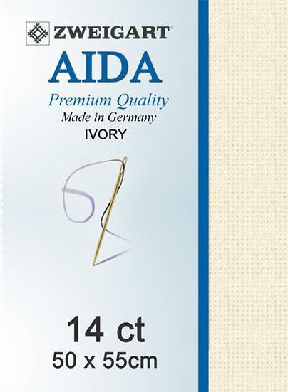 14 Ct Aida Ivory FQ