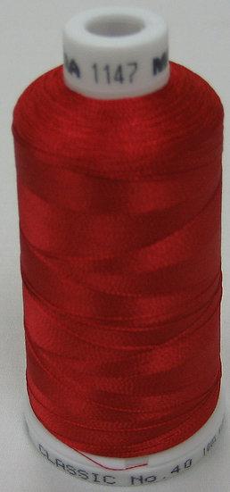 Madeira Rayon Classic 40 #1147 Christmas Red