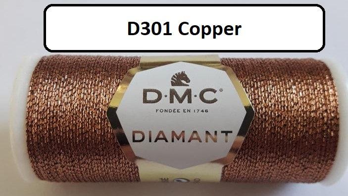 301 DMC  Diamant Metallic Thread