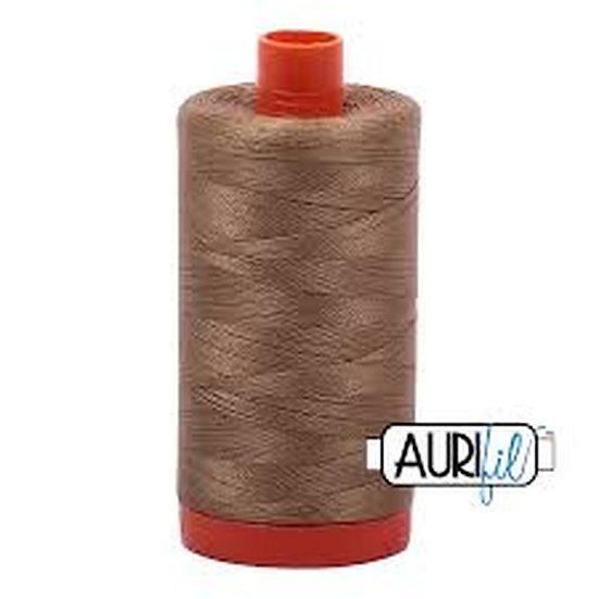 6010 Toast Aurifil Thread 50 Wt 100% Cotton