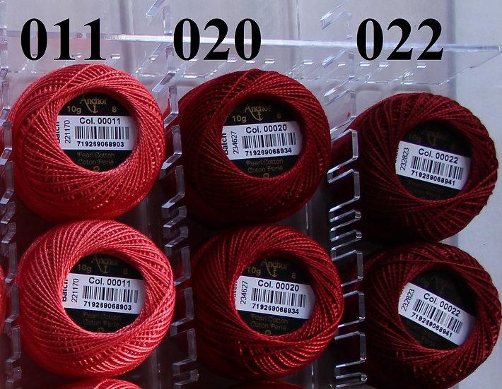 0011 Anchor Pearl 8 Cotton