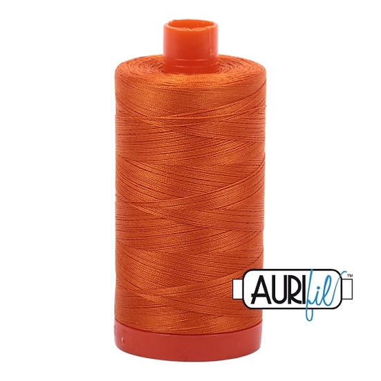 2150 Pumpkin Aurifil Thread 50 Wt 100% Cotton