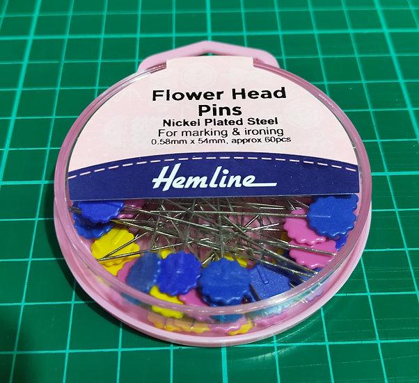 Flower Head Pins  0.58mm x 54mm
