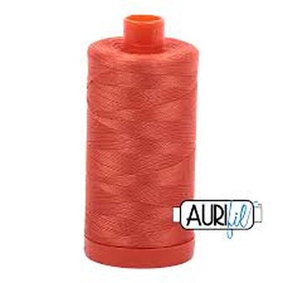 1154 Dusty Orange Aurifil Thread 50 Wt 100% Cotton