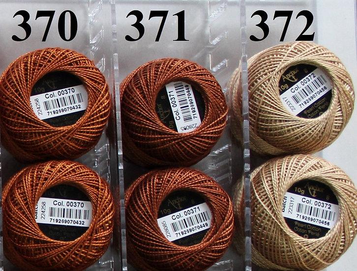 0370 Anchor Pearl 8 Cotton