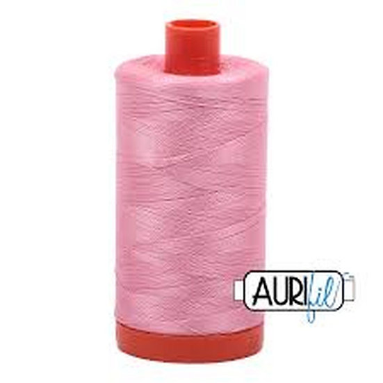 2425 Bright Pink  Aurifil Thread 50 Wt 100% Cotton