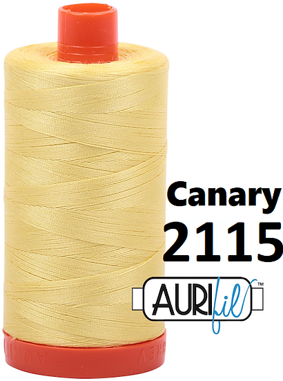 2115 Aurifil Thread 50 Wt 100% Cotton