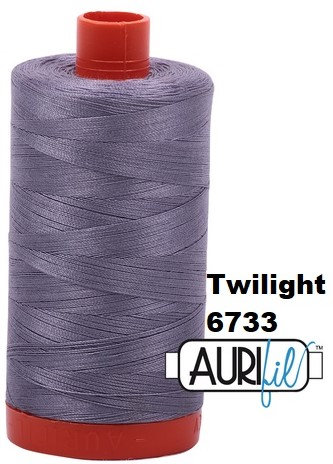 6733 Aurifil Thread 50 Wt 100% Cotton