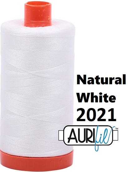 2021 Aurifil Thread 50 Wt 100% Cotton