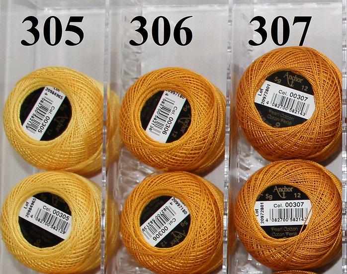 0306 Anchor Pearl 12 Cotton
