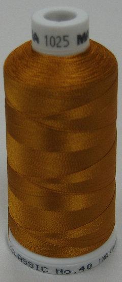 Madeira Rayon Classic 40 #1025 - Mine Gold