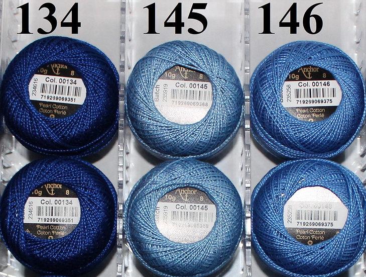 0134 Anchor Pearl 8 Cotton
