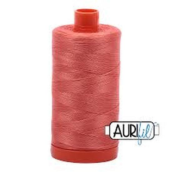 2225 Salmon Aurifil Thread 50 Wt 100% Cotton
