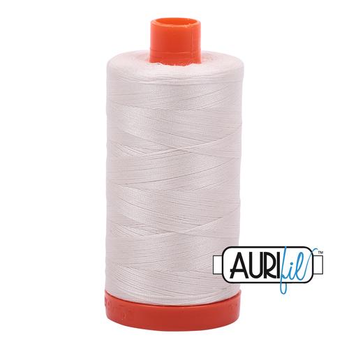 2311 Muslin Aurifil Thread 50 Wt 100% Cotton