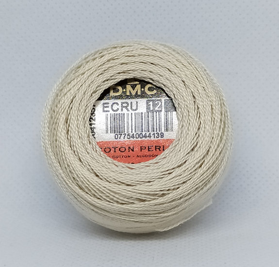 ECRU  DMC Pearl 12 10g 120 Mtr Balls