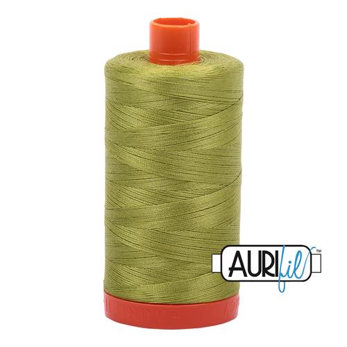 1147 apple green  Aurifil Thread 50 Wt 100% Cotton