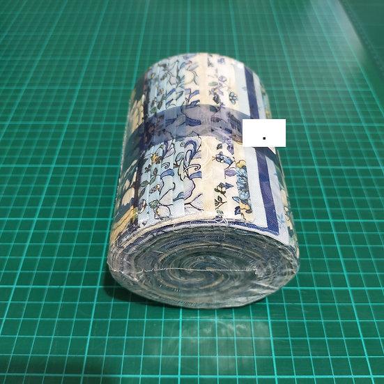 Jelly Roll  5 Strips  Blue