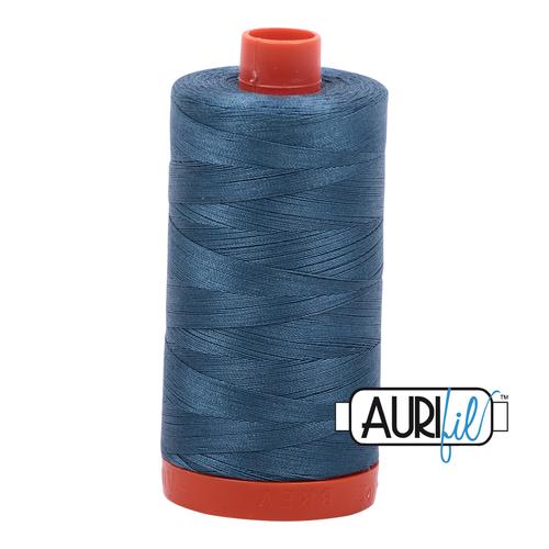 4644 Smoke Blue Aurifil Thread 50 Wt 100% Cotton