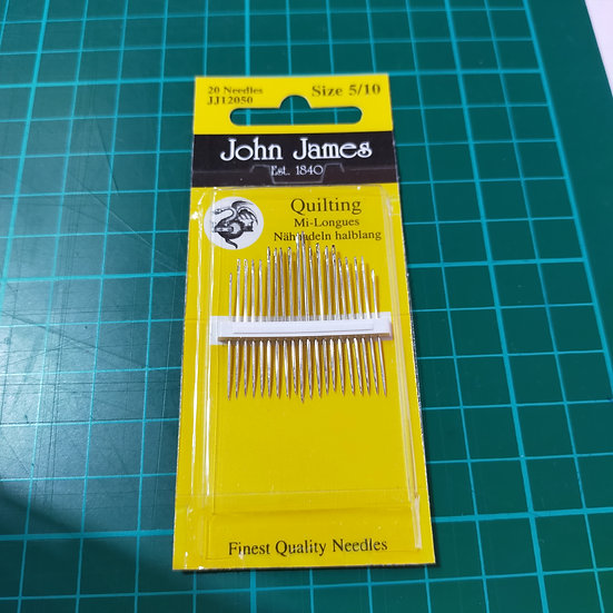 JJ12050 John James Needles  Quilting Sizes 5/10