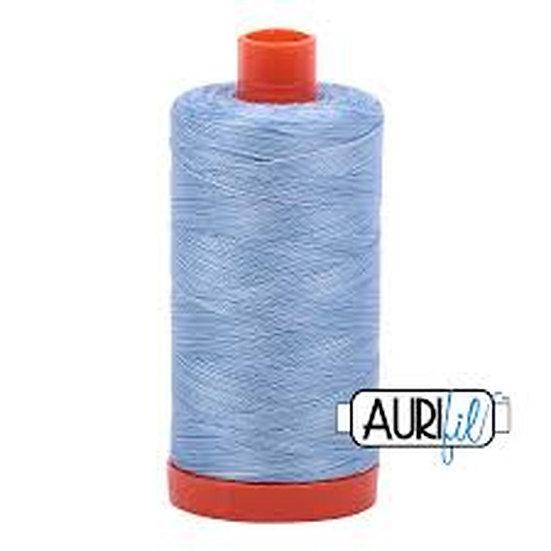 3770 Stone Washed Denim Aurifil Thread 50 Wt 100% Cotton