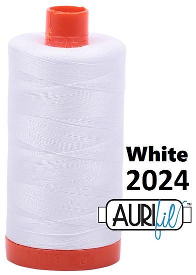 2024 Aurifil Thread 50 Wt 100% Cotton