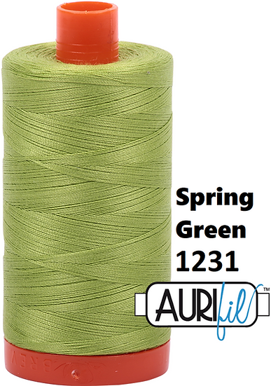 1231 Aurifil Thread 50 Wt 100% Cotton