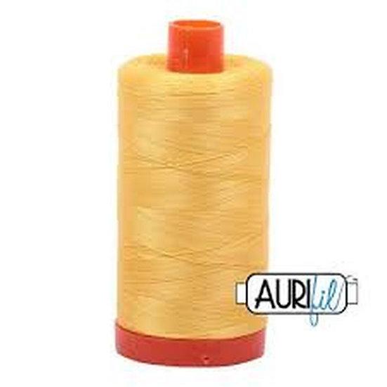 1135 Pale Yellow Aurifil Thread 50 Wt 100% Cotton