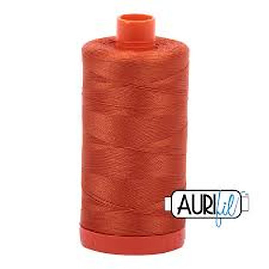 2240 Rusty Orange Aurifil Thread 50 Wt 100% Cotton