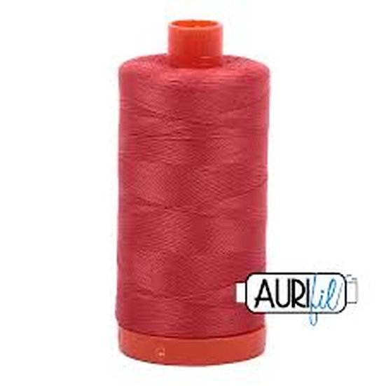 2255 Brick Red Aurifil Thread 50 Wt 100% Cotton