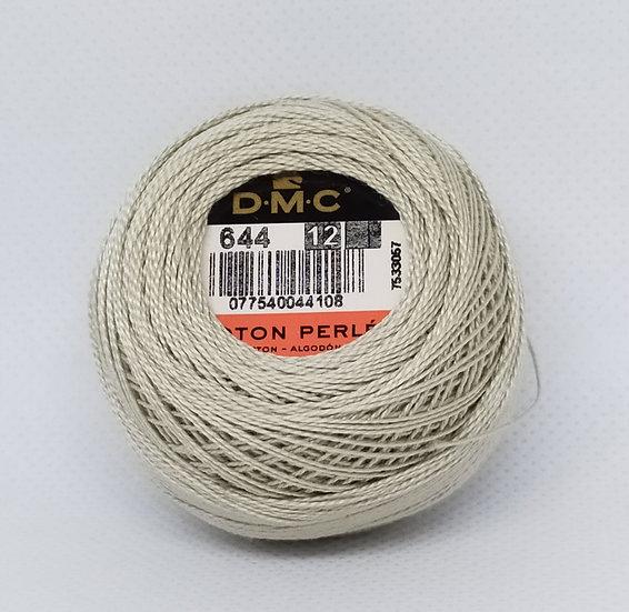 0644  DMC Pearl 12 10g 120 Mtr Balls