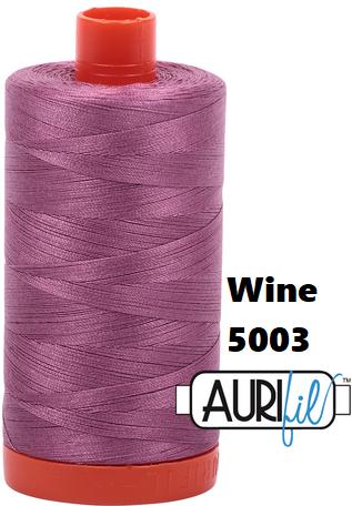 5003 Aurifil Thread 50 Wt 100% Cotton
