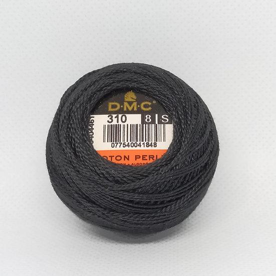 310 DMC Pearl 8 10g 80 Mtr Balls