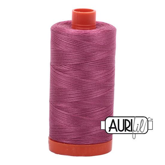 2450 Rose  Aurifil Thread 50 Wt 100% Cotton