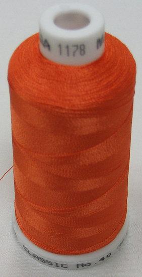 Madeira Rayon Classic 40 #1178 - Carrot