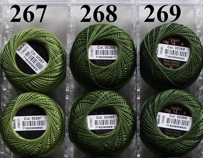 0269 Anchor Pearl 8 Cotton