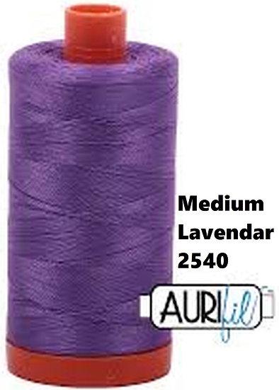 2540 Aurifil Thread 50 Wt 100% Cotton