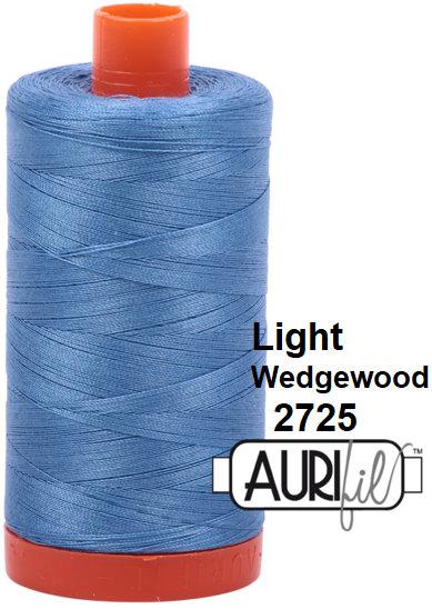 2725 Aurifil Thread 50 Wt 100% Cotton