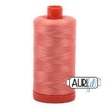2220 Light Salmon Aurifil Thread 50 Wt 100% Cotton