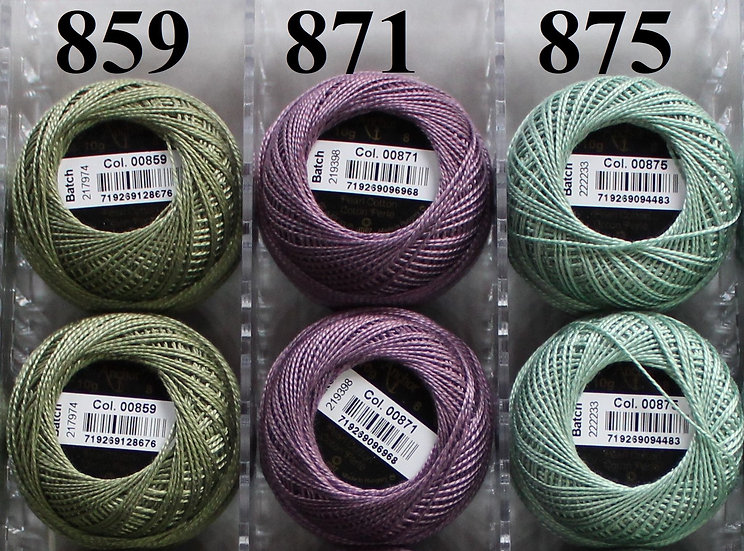 0871 Anchor Pearl 8 Cotton